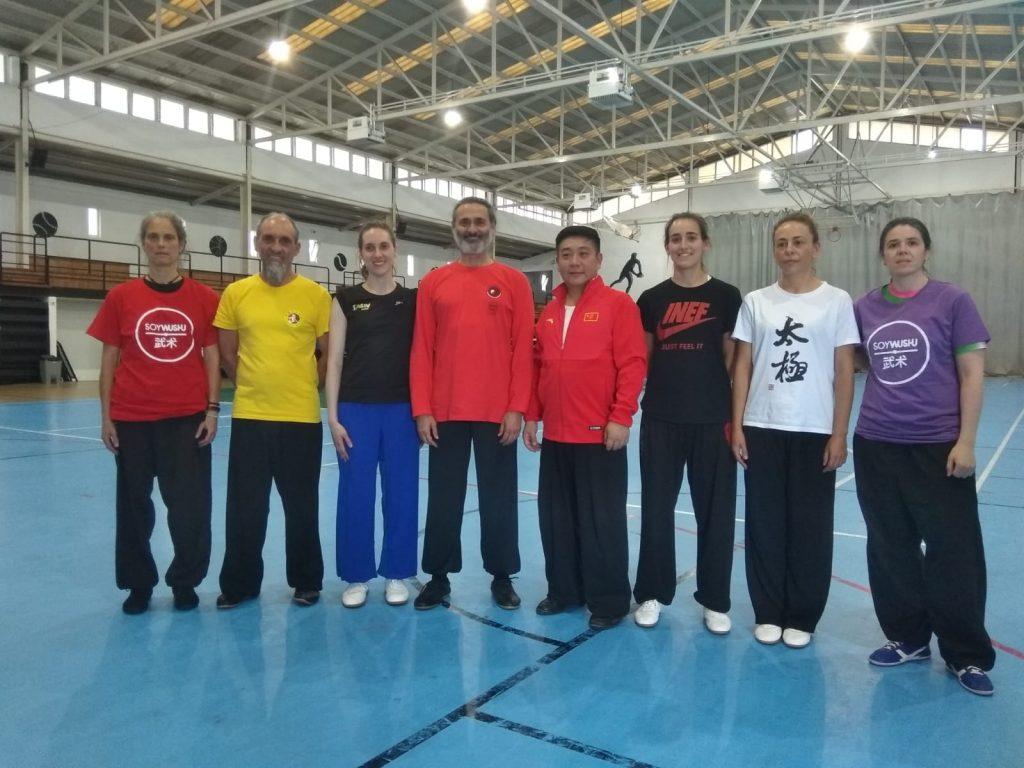 curso wushu orense 2018 con Master Fu