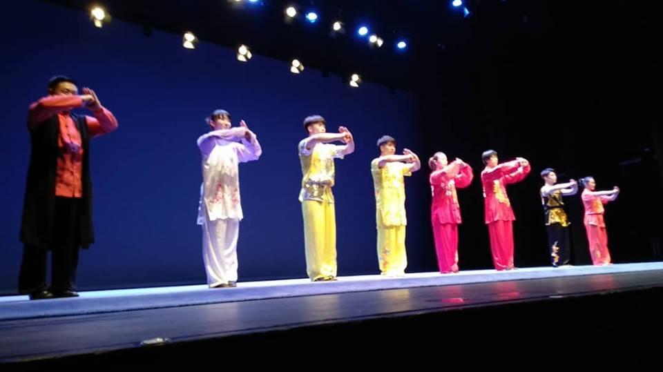exhibicion wushu campeones chinos orense 2018
